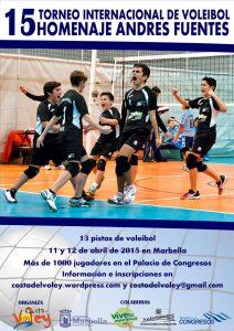 Cartel 15 Andrés Fuentes